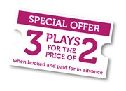 3 for 2 ticket offer