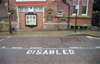 Pom Disabled Parking