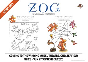 Zog A4 Sept 2020 Colouring Sheet Web Image
