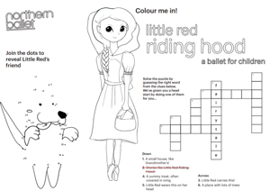 Little Red Riding Hood Activity Sheet Web Image