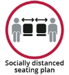 Socially Distanced Seating Plan icon