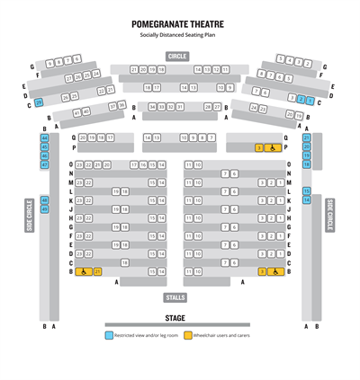 Temp Social Distanced Seating Plan