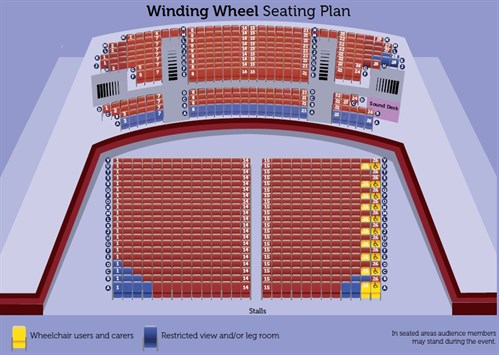 Winding Wheel Seating Plan Summer 2015 Brochure
